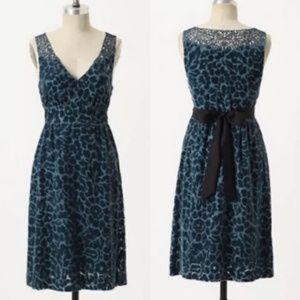 ANTHROPOLOGIE velvet dress